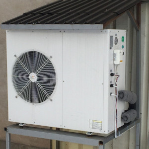 11.2kW 3-Phase House heating + hot water heat pump