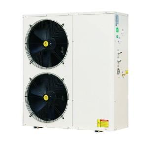 19kW 380V DC inverter monobloc air to water heat pump
