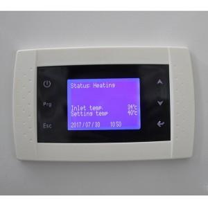 New design 19kW 380V DC inverter split air to water heat pump