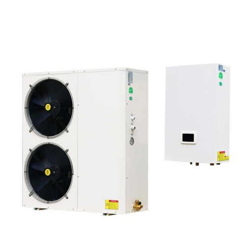 New design 19kW 380V DC inverter split air to water heat pump