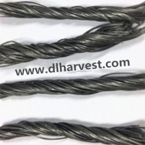 PP Twist Fiber PP Wave Fiber for concrete