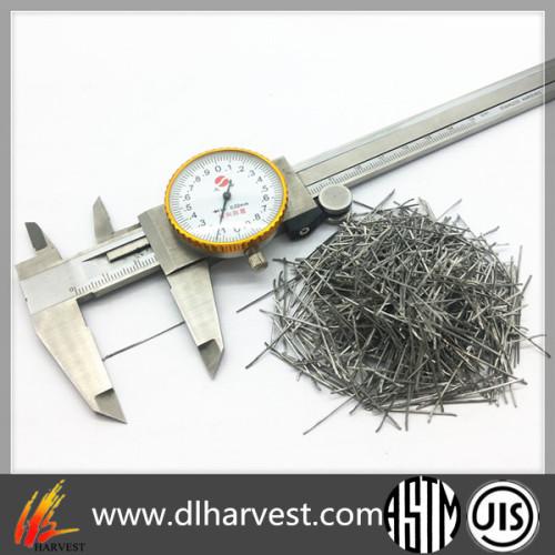 不锈钢纤维用于耐火材料的抗压强度