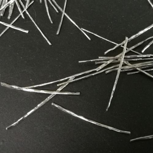 用于浇注耐火材料的狭缝片直钢丝