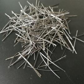 Schmelzextraktions-Stahlfaser für feuerfestes gießbares
