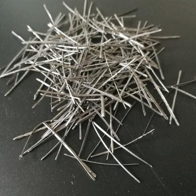 用于耐火浇注料的熔融提取钢纤维