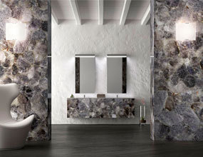 Blue Quartz Luxury Bathroom Design