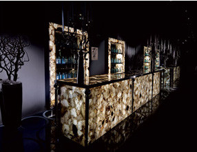 Smoky Quartz Bar Design
