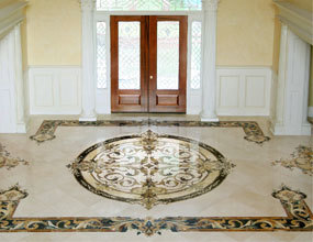 Portfolio-Residential Featured Marble Waterjet Para el hogar