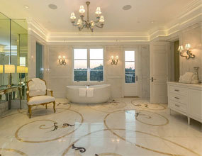 italian marble flooring design natural stone medallion
