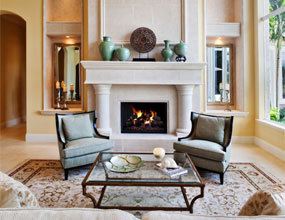 Home Decoration Elegant French Fireplaces Mantel