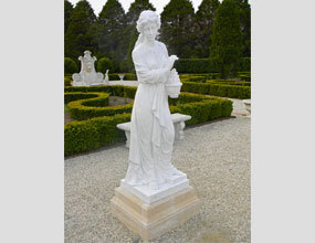 European Design Stone Carving And Women Marble Sculpture For Sale