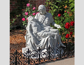 The Pieta1499 Bonded Marble Statue Large