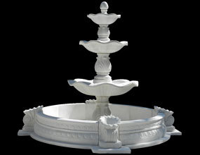 Large Outdoor Garden Fountain