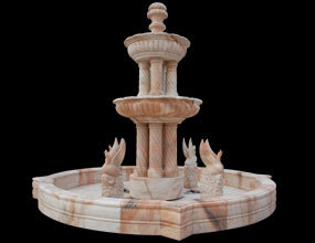 Marble Fountain With Column
