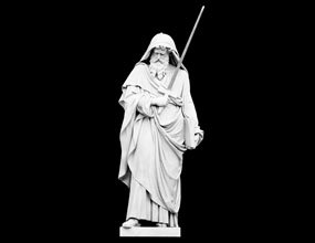 Marble Statue Of St Paul