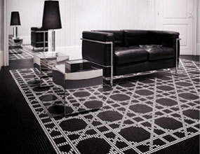 Best Black Mosaic Tile Flooring High End Ideas