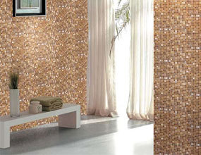 Diamond Patterns Ideas White Mix Golden Crystal Glass Mosaic