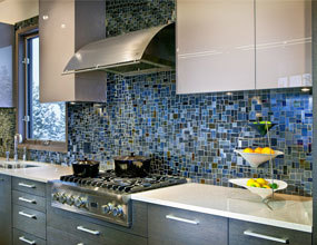 Stone Marble Tile Blue Glass Mosaic Tile Sheets Kitchen Backsplash Wall Subway Tiles Bathroom Shower Tiles