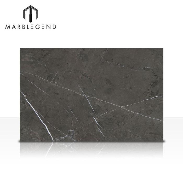 PFM High Quality White veins Iran Pietra Grey Marble Slab For Interior Design