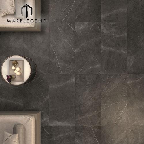 PFM High Quality White veins Iran Pietra Gray Marble Slab para diseño de interiores