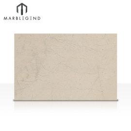 Baldosas de mármol beige naturales pulidas Bursa Losas de mármol beige claro