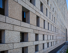 PFM Natural Stone Granite Exterior wall cladding designs