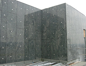 Elysian Tower granite-exterior wall cladding tiles