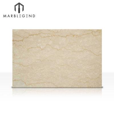 Colección de piedra natural de Italia Botticino Classico Beige losa de mármol beige