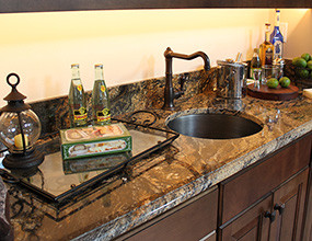 prefab granite countertop desert dream Granite kitchen countertop