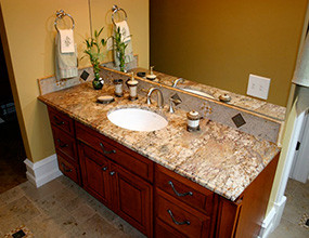 Granite Vanity Top Bathroom granite countertop