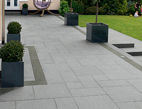 Granite Flooring Garden Paving
