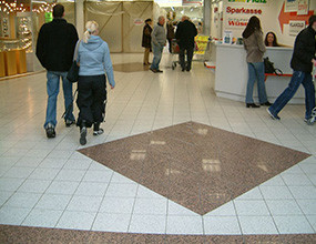 Interior Commercial Plaza Granite Flooring