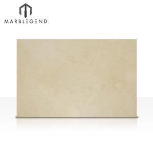 Природные испанские бежевые мраморные плиты Crema Marfil Premium Marble Interior Design