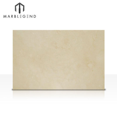 Natural Spanish Beige Marble Slabs Crema Marfil Premium Marble Interior Design