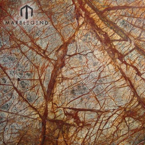Azulejos de mármol marrón marrón
