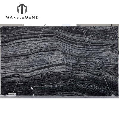 China Kenia Mármol negro Madera antigua Mármol gris Mármol plata Olas de mármol