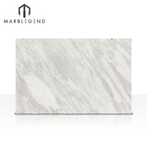 الرخام الأبيض الأبيض بلاطة الرخام الطبيعي Volakas Wholesaler White Tiles