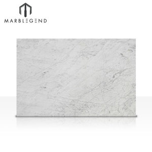 Italy White Marble Bianco Carrara White Polished Marble Slab