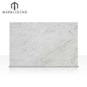 Italia mármol blanco Bianco Carrara blanco pulido mármol losa