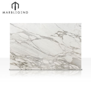 Style Selections Italy Calacatta Vagli Oro White marble Floor and Wall Tile