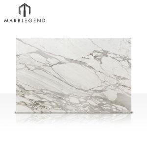 Selecciones de estilo Italia Calacatta Vagli Oro Blanco Baldosas de suelo y pared