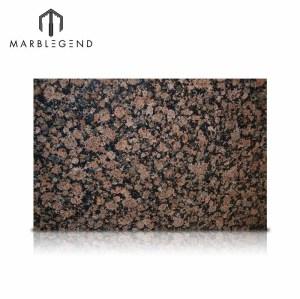Losa báltica marrón china del granito del marrón del granito de Brown natural para la encimera