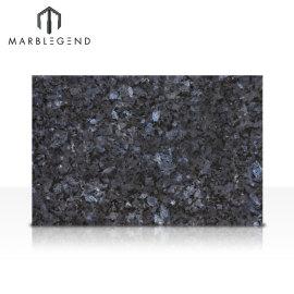 Losas de piedra natural durable granito azulejo azul perla granito