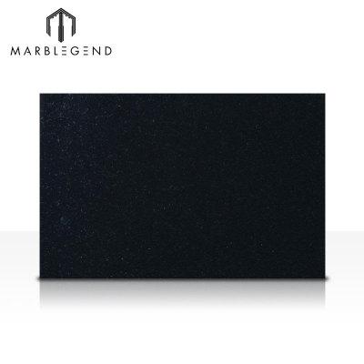 Chinese Natural Quarry Stone Granite Absolute Black Mongolia Black Granite Slab