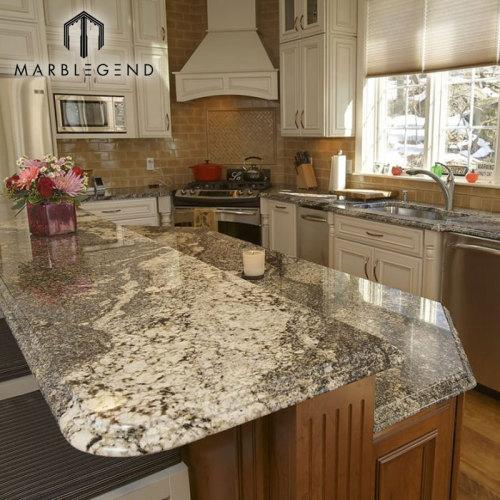 PFM Granite Slabs Brazil Quarry Golden Persa Granite Kitchen Countertops