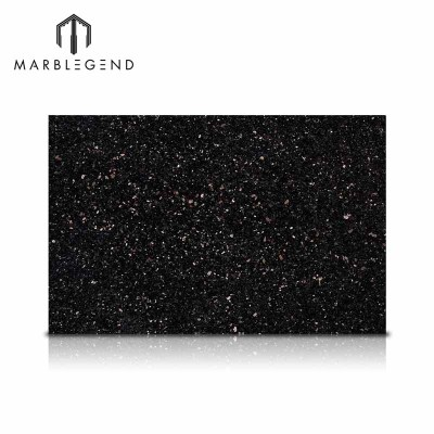 PFM Natural Stone Collection India Black Galaxy Granite Slabs Tiles