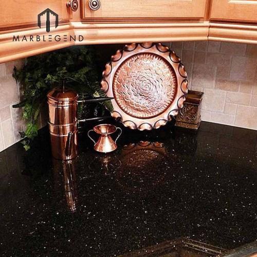 PFM Natural Stone Collection India Black Galaxy Granite Slabs Tiles