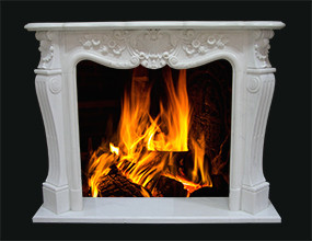 Marble Fireplace Surround Mentle