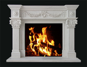 Marble Fireplace Mentel