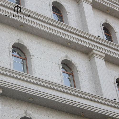 Las losas del granito de PFM Chinese G655 Tong las baldosas blancas de las losas de un granito para el proyecto